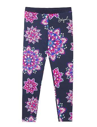Desigual Legging_Albaricoque, Pantalones para Niñas: Amazon.es: Ropa y accesorios