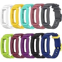 Tencloud Vervangende riemen compatibel met Fitbit Ace 2 riem, zachte siliconen flexibele polsbandjes armband voor Ace 2…