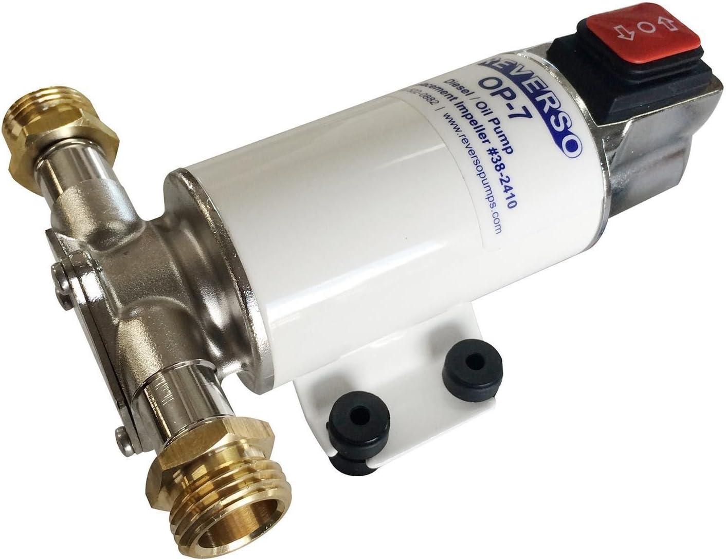 Jabsco 17830-0012 12V Oil Change Pump