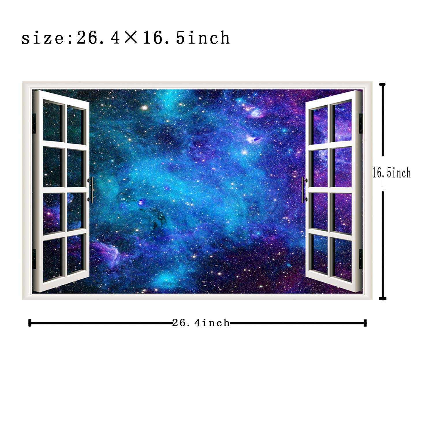 Astronomy Gift Wall Art Boyfriend Gift Science Gift Guy Friend Gift Decal Outer Space Wall Decor Astronomy Decal Galaxy Wall Decal