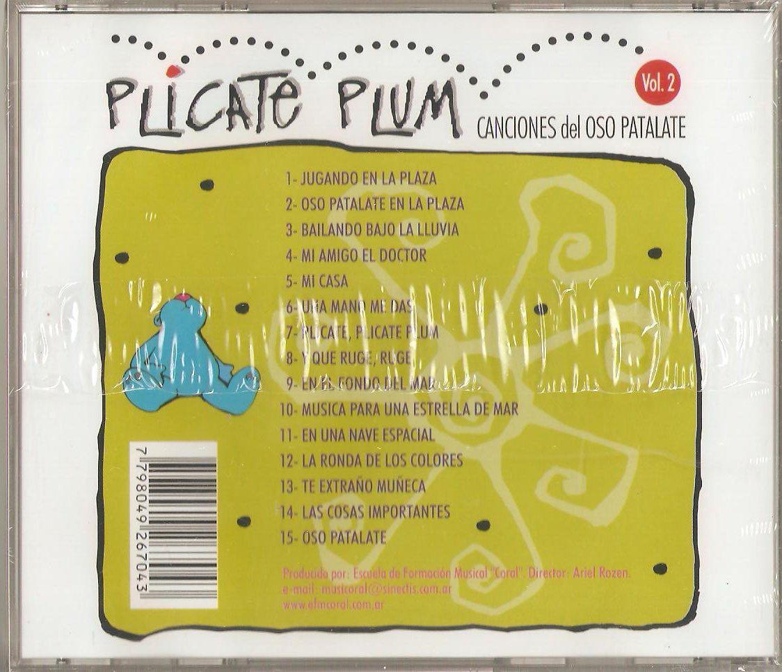 - Plicate Plum - Canciones del Oso Patalate Vol. 2 - Amazon.com Music