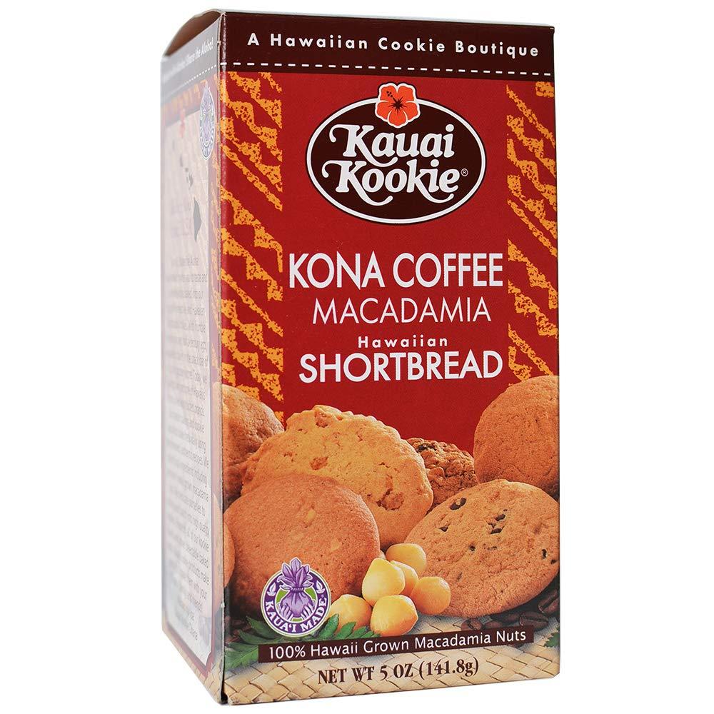 Kauai Kookies Kauai Kona Coffee Macadamia, 5 oz.