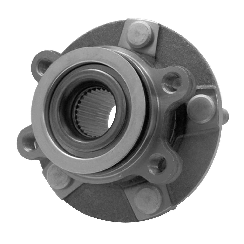 1/X Cuscinetto Ruota Asse anteriore con sensore magnetico Wake integrata Ring