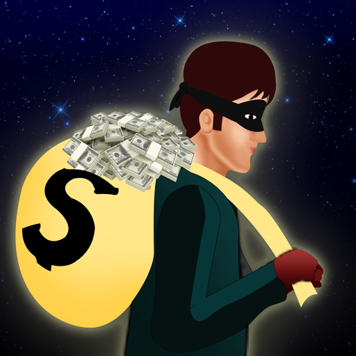 Security Alarm Bank Thief : The Cash Collecting crazy robbers - Free Edition