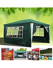 Hengda 3x4m Gazebo da Giardino Stabile Garden Pavilion Tenda da Giardino Padiglione Tenda della Birra