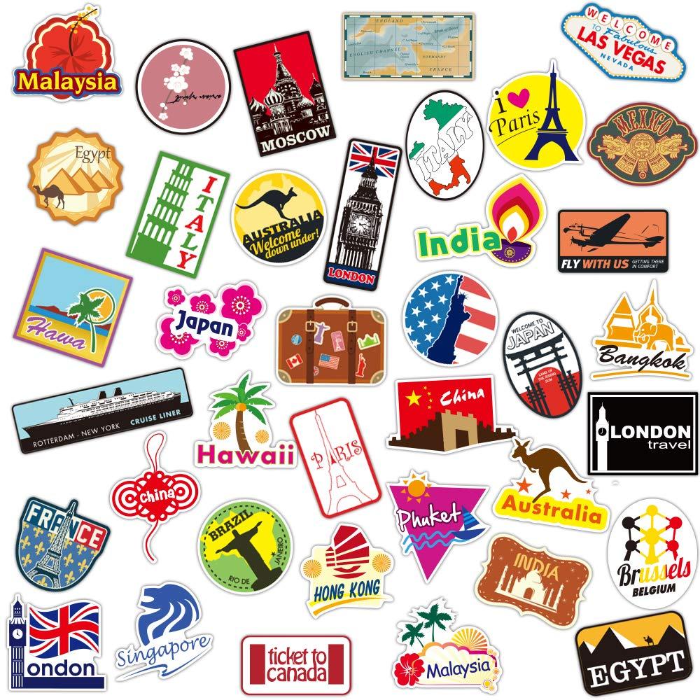 Stickers Calcos 100 un. Surtidos Origen U.S.A. (7PN4NXBS)