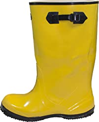 The Safety Zone BSYE-11-6 Heavy Duty Rubber Shoe Slush Boots, 17