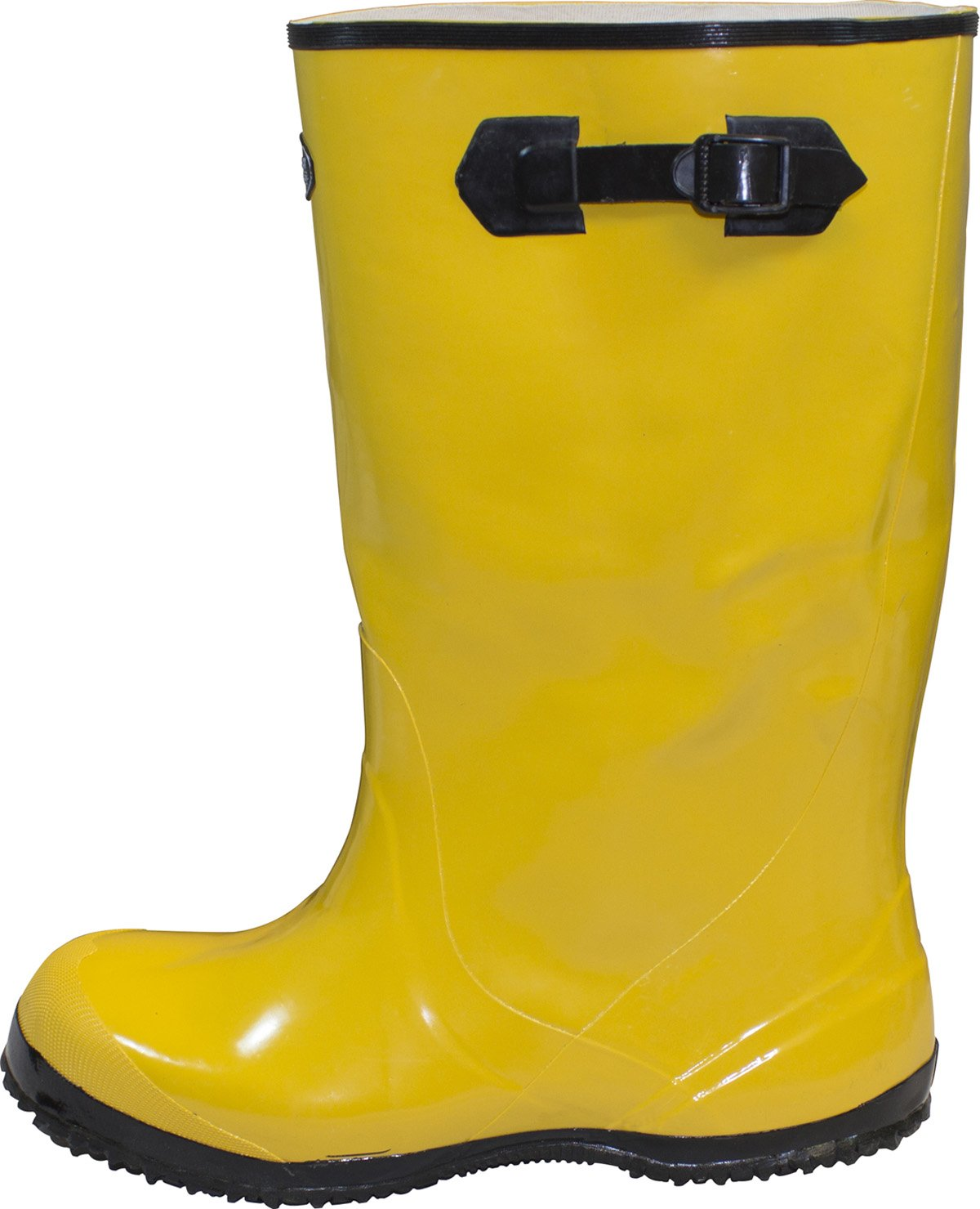 The Safety Zone BSYE-11-6 Heavy Duty Rubber Shoe Slush Boots, 17'' Height, Size 11 (Pair), Yellow by The Safety Zone