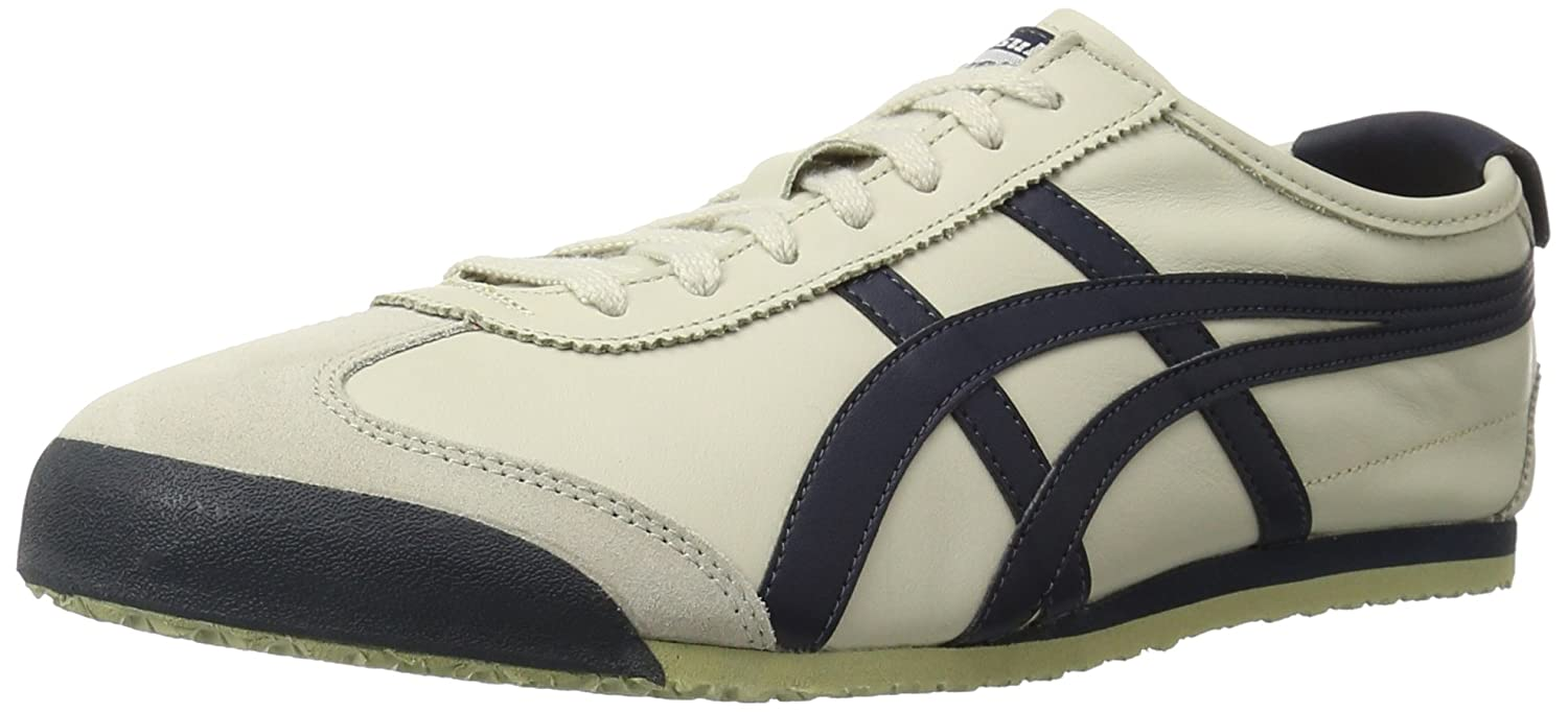 Onitsuka Tiger Mexico 66 Fashion Sneaker B00HT10LAM 9 M US Women / 7.5 M US Men|Birch/India Ink/Latte
