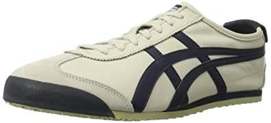 Onitsuka Tiger Mexico 66 Fashion Sneaker, Birch/India Ink/Latte, 10 M