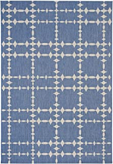 "product image for Elsinore-Tower Court Blueberry 3' 11"" x 5' 6"" Rectangle Machine Woven Rug"