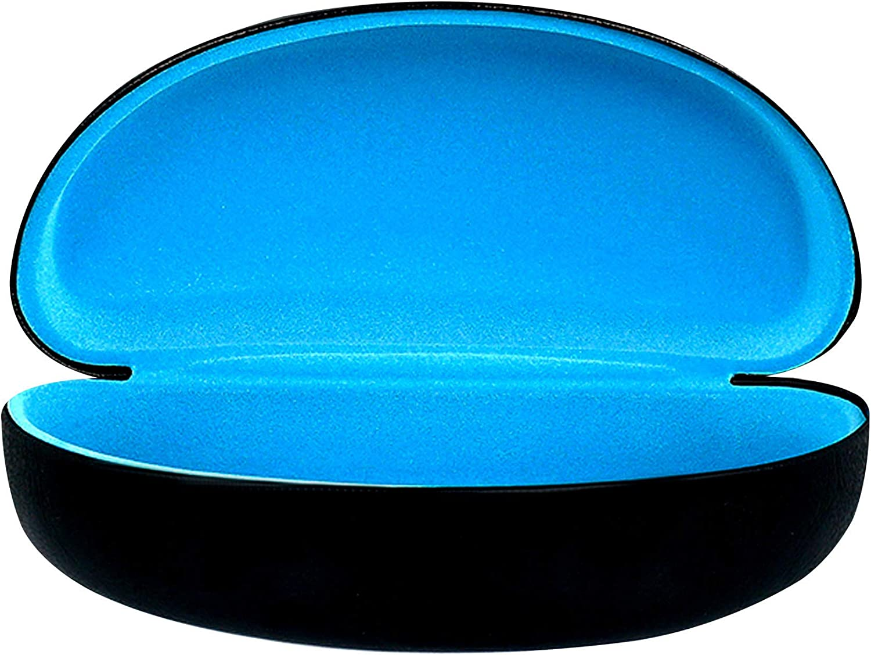 By OptiPlix Unisex Durable Protective Holder for Oversized Glasses Extra Large Sunglasses Hard Case Prescription Eyeglasses /& All Eye Wear