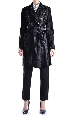 Balizza Mujer MCBI336035O Negro Viscosa Trench Coat