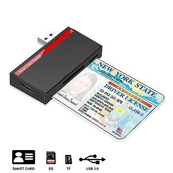 TWORUX (Mejorar) Inteligente USB3.0 Lector de Tarjetas ...