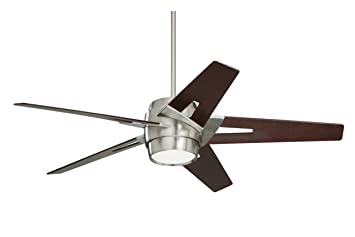 Emerson ceiling fans cf550dmbs luxe eco modern ceiling fans with emerson ceiling fans cf550dmbs luxe eco modern ceiling fans with light and wall control 54 inch blades brushed steel finish close to ceiling light aloadofball Images