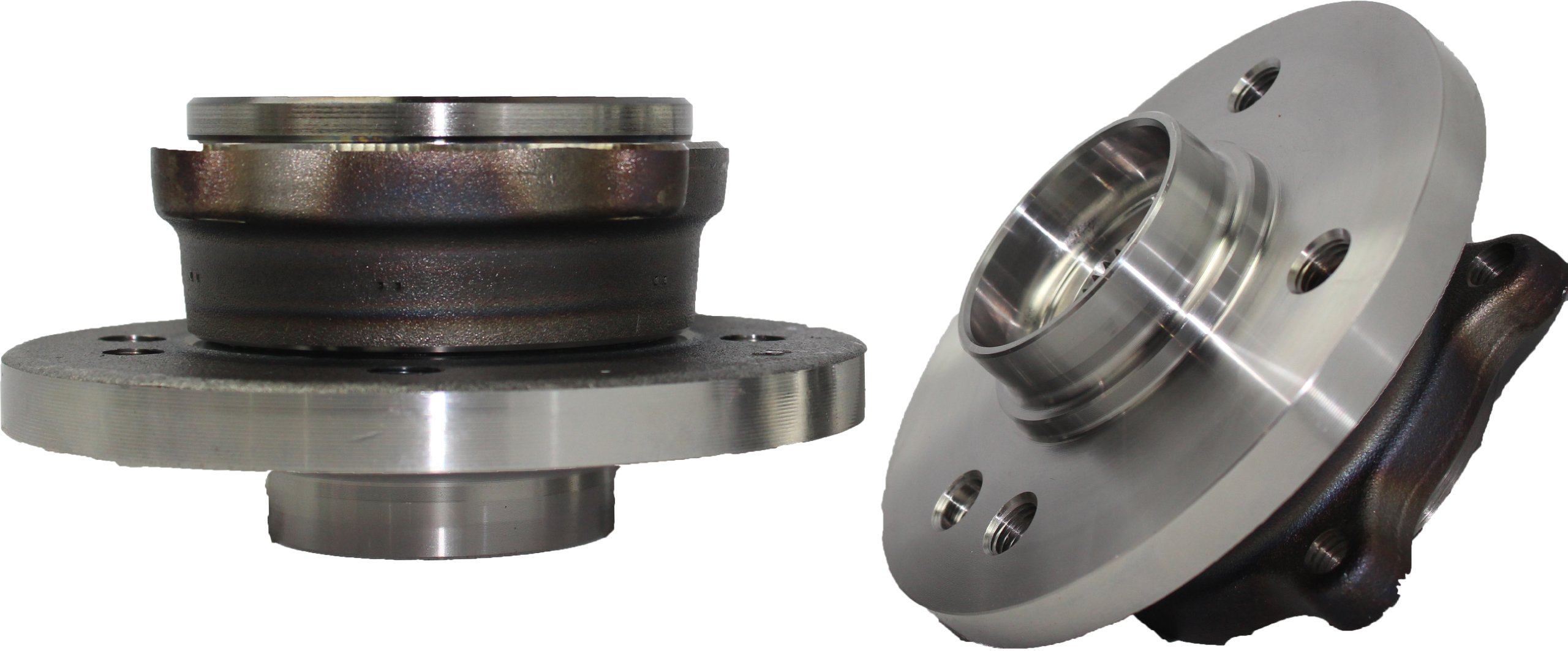 Brand New (Both) Front Wheel Hub and Bearing Assembly for 2002-2006 Mini Cooper 12MM THREAD LUG SIZE 4 Bolt w/ABS (Pair) 513226 x 2