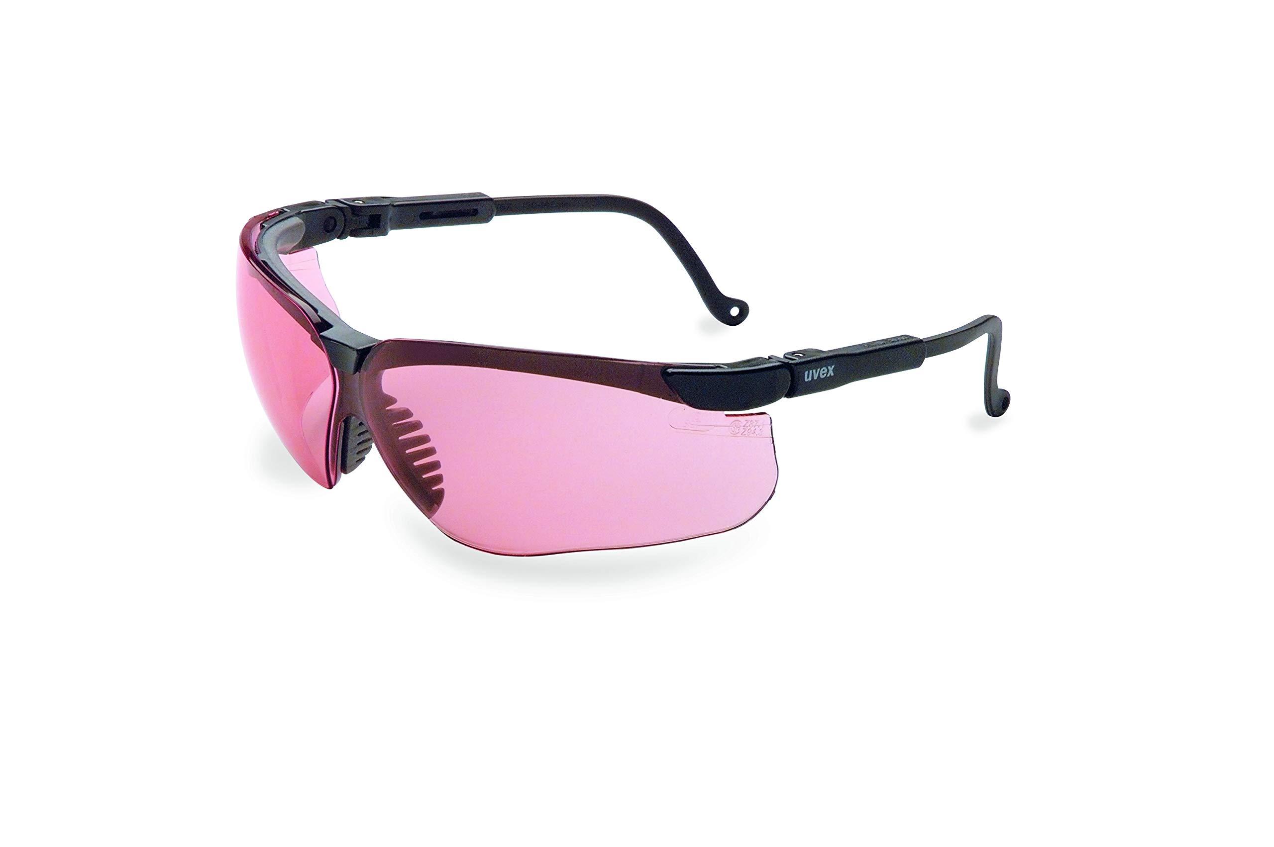 UVEX by Honeywell - S3210X Uvex by Honeywell Genesis Safety Glasses with Uvextreme Anti-Fog Coating, Black Frame