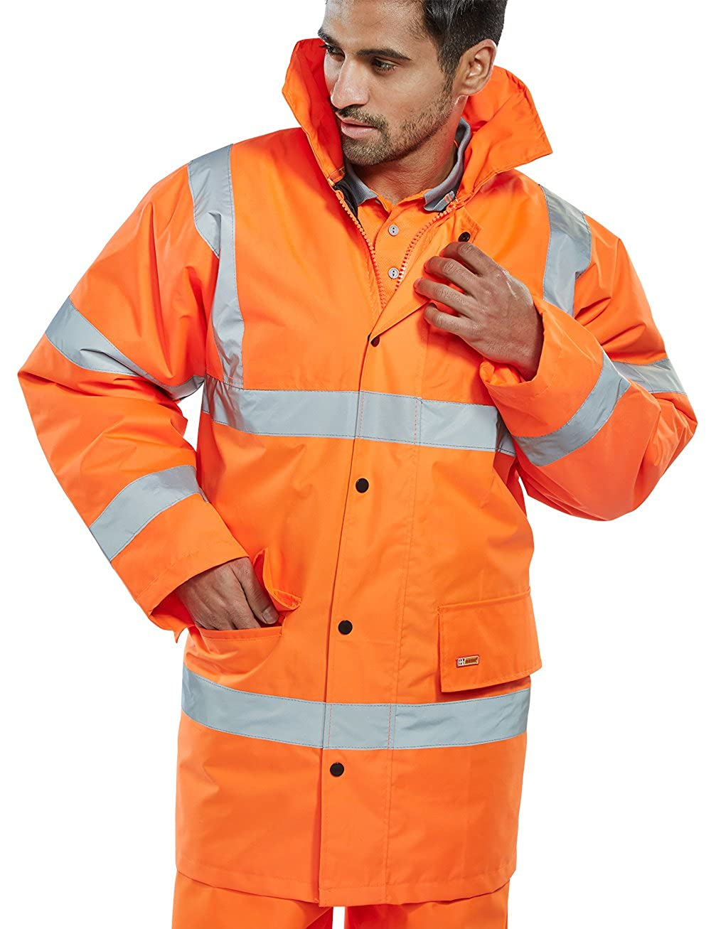 B Seen Constructor Hi Vis Traffic Jacket B-Seen