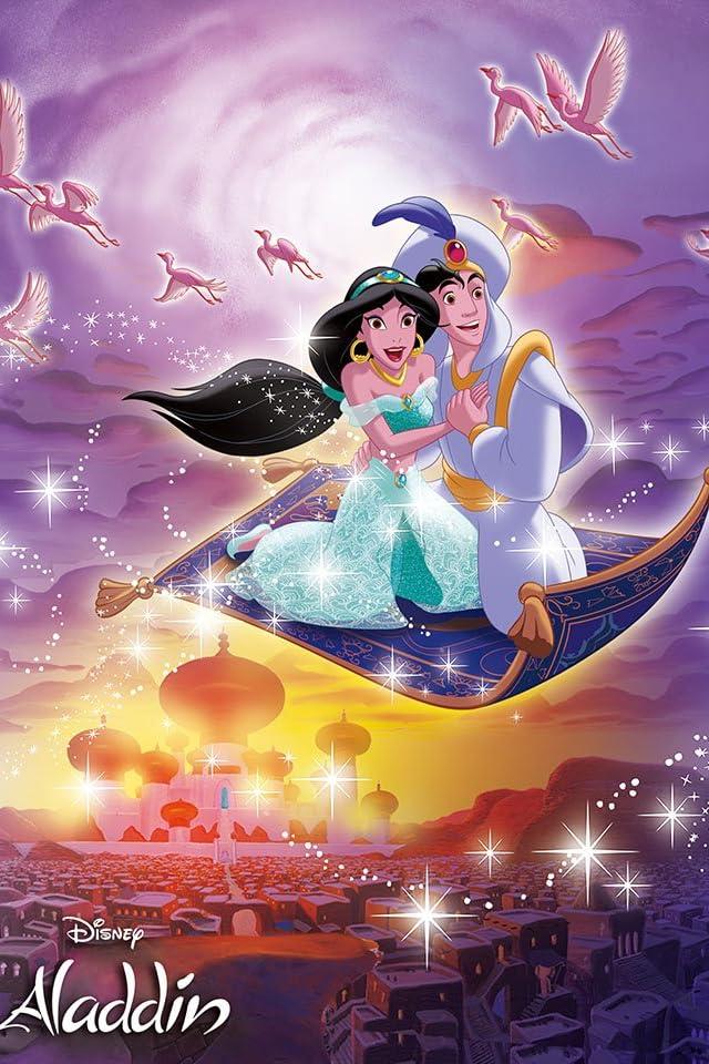 ディズニー アラジン 世界をめぐる旅へ Iphone 640 215 960 壁紙 画像58872 スマポ