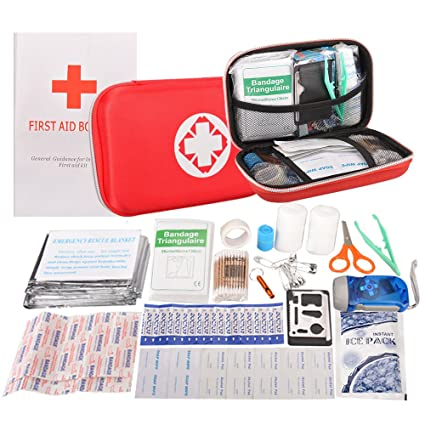 Amazon first aid kit portable waterproof 102 pack necessary first aid kit portable waterproof 102 pack necessary hospital grade medical supplies for emergency survival situations publicscrutiny Image collections