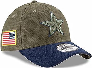 buy online 15850 a2179 Dallas Cowboys 2017 Salute to Service Flex Fit Hat