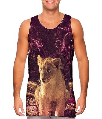 be2d42a9d6748 Amazon.com  AnimalShirtsUSA- Princess Lioness Cub -TShirt- Mens Tank ...