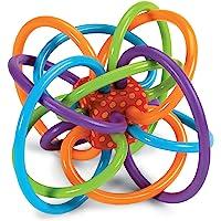 【海外购 品牌直供 保税仓现货】Manhattan Toy 曼哈顿玩具 Winkel摇铃和感官牙胶 幼儿乳牙训练手抓球