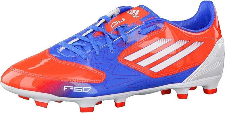 Adidas F10 TRX FG, Zapatillas de fútbol Unisex Adulto, Rouge ...