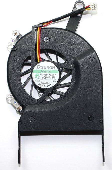 Power4Laptops Ventilador para Ordenadores portátiles Compatible con Toshiba Satellite L30-113: Amazon.es: Informática