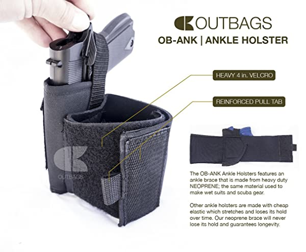 Outbags OB-31ANK Nylon Ankle Holster