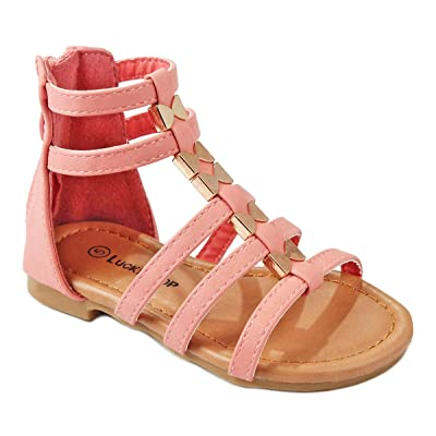 Baby Girls Cute Bow Tie Leatherette Strappy Gladiator Roman Toddler Infant Sandals