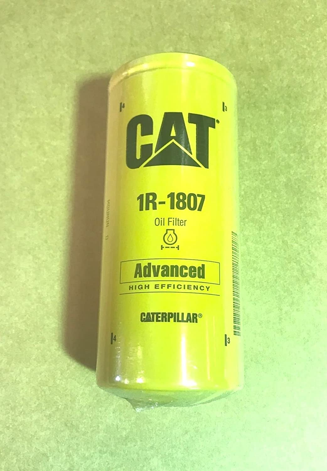Caterpillar 1r 1807 Advanced High Efficiency Oil Filter 3126 Fuel Truck Pack Of 1 Automotive