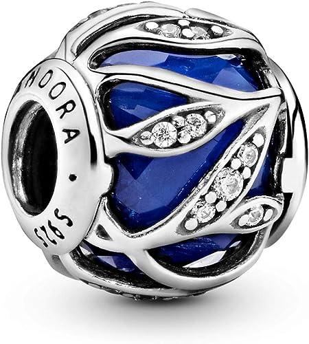 Pandora Leaf Shine Royal Blue Charm 791969NCB