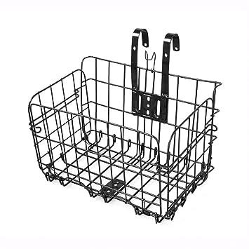 YUKIKO Panier de vélo Pliable pour Porte-Bagages Avant ou vélo ... 562ce9a6206