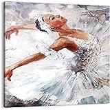 POSTERLOUNGE Alu Dibond 90 x 60 cm: Ballerina Dream de Editors Choice