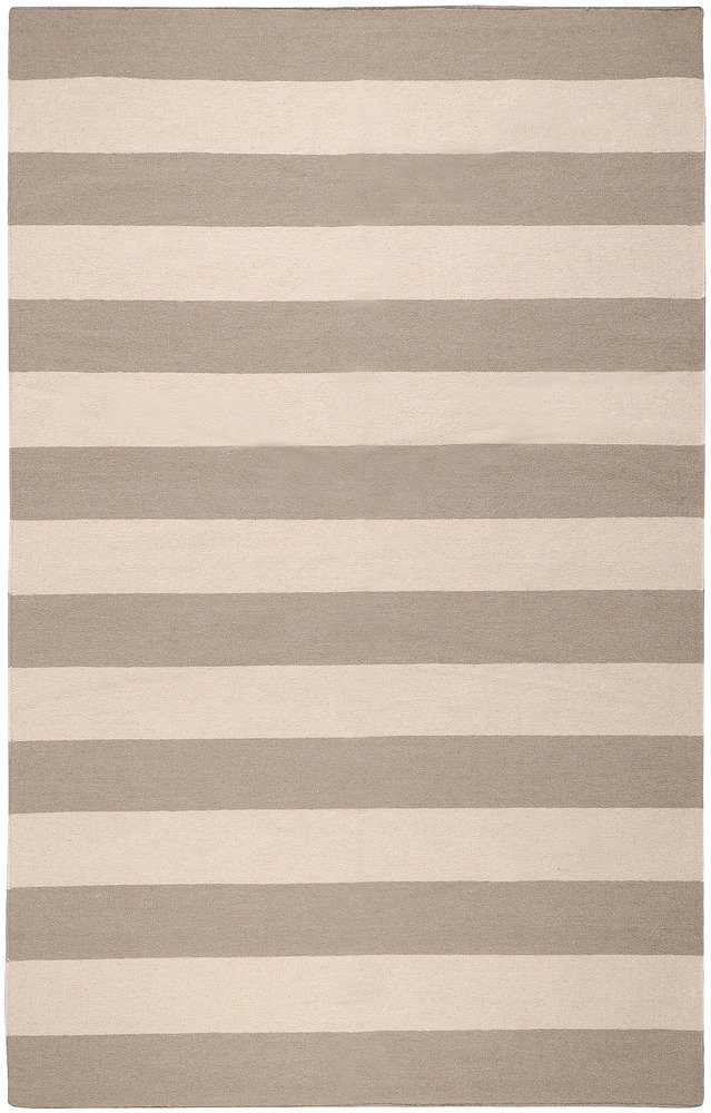 Amazon.com: Surya Frontier 5u0027 X 8u0027 Hand Woven Wool Rug In Gray: Kitchen U0026  Dining