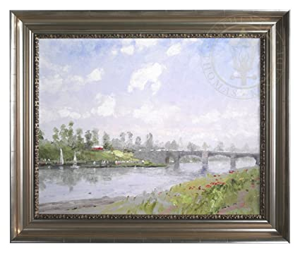 Amazon.com: Riverbank, The – Thomas Kinkade Robert Girrard 24\