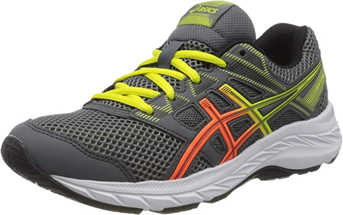 ASICS Contend 5 GS, Zapatillas de Running Unisex niños, 39: Amazon.es: Zapatos y complementos