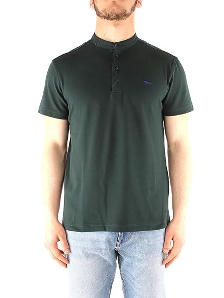 Harmont & Blaine LRB056 - Polo para Hombre Verde 3XL: Amazon.es ...