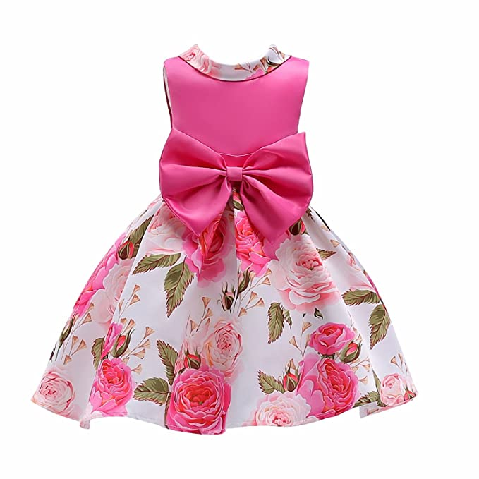 Amazon.com: AnKoee Kids Girl Princess Swing Party Dress Lovely Formal Princess Dresses For 3-10 Years Old Girls: Clothing
