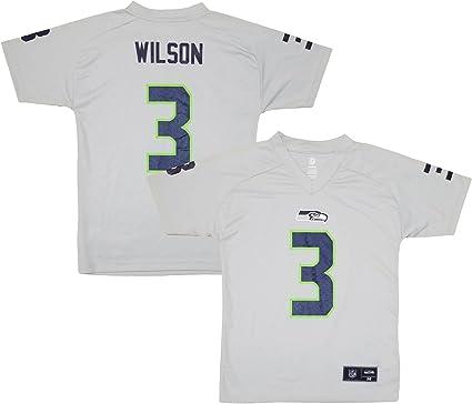 Amazon.com: Russell Wilson Seattle Seahawks Grey Performance ...