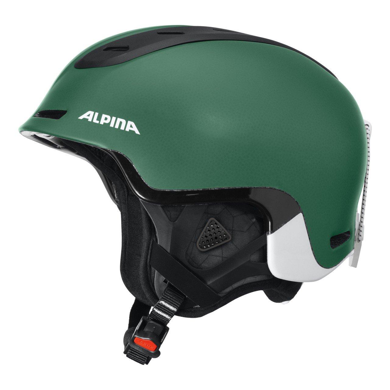 ALPINA Skihelm grün 55-59 B01HDNHOQO Ski Alpin Hervorragende Funktion