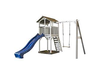 Spielturm Beach Tower Swing Holz Mit Sandkasten Einzelschaukel