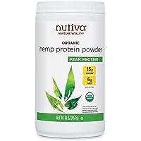 Organic Cold-Pressed Hemp Seed Protein Powder, 15G Protein, Hemp Protein 1 Pound 16.0 Ounce