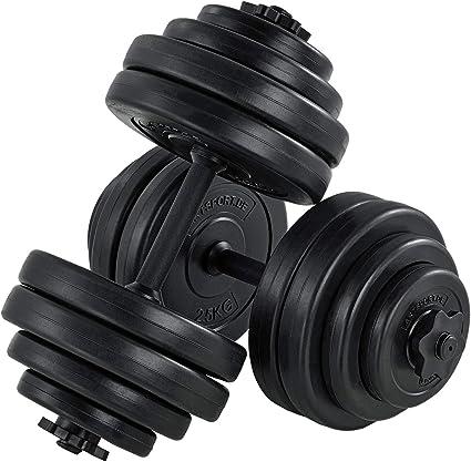 Kurzhantel Hantel Set Gewichte Hantelscheiben Krafttraining 30KG 2x15 KG