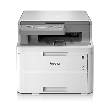 Brother DCP-L3510CDW A4 Colour Laser Printer, Wireless and PC Connected,  Print, Copy, Scan and 2 Sided Printing