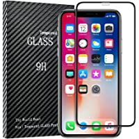 Floveme Premium HD Clear Anti Scratch Tempered Glass Screen Protector Compatible with iPhone Xs,X, 11 Pro Case