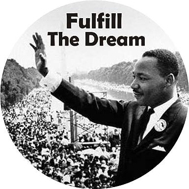MLK Dream Enamel Lapel Pin PinMart/'s Dr Martin Luther King Jr