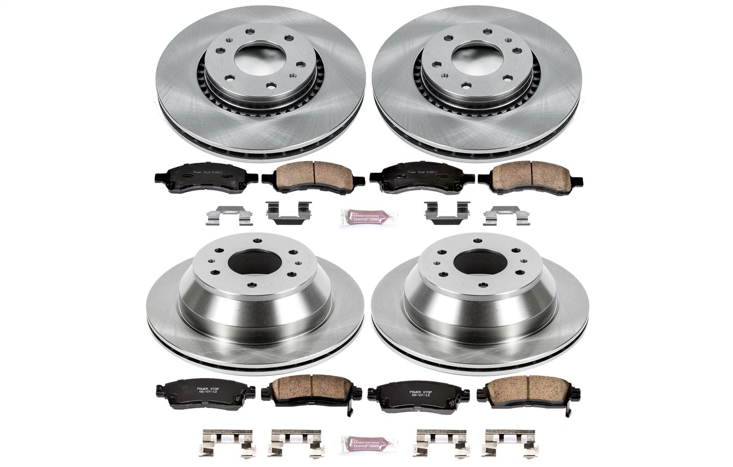 Autospecialty KOE2060 1-Click OE Replacement Brake Kit