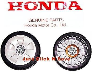 Honda hrr216vka hrr216vla hrr216vya cortacésped Juego de 2 trasero Disco ruedas nueva